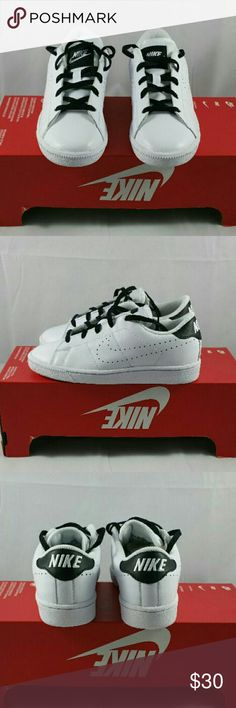 Tennis Classic PRM (PS) Nike Size - 2Y Color - Black/White Can