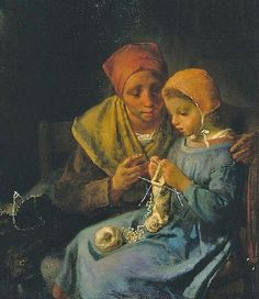 Its About Time: Working with Textiles by French painter Jean-François Millet 1814-1875