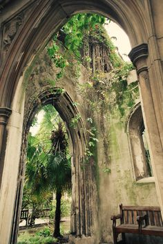 St Dunstan-in-the-East was a Church of England parish church on St Dunstan's Hill, half way between London Bridge and the Tower of London in the City of London. The church was largely destroyed in the Second World War[1] and the ruins are now a public garden.