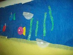 Make an ocean mural