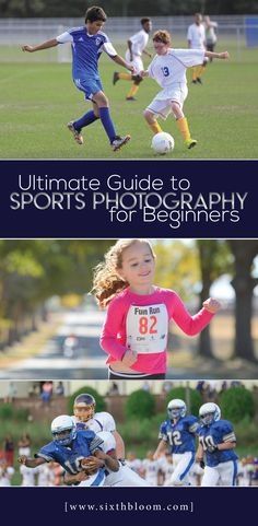 On the sidelines at every game sits a mom and dad with a camera! Our Ultimate Guide to Sports Photography for Beginners will give you all of the sports photography settings, sports photography tips and techniques as well as tips on the best sports photography equipment you'll need.