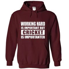 CRICKET is importanter T-Shirts, Hoodies. Check Price Now ==►…