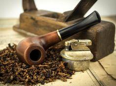 Pipa que fuma Clásico. Pipa de madera tallada. por SovietHouse