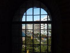 Cell window from White Tower, Thessaloniki, Greece Greece Tourism, Military Cemetery, Travel Magazines, Thessaloniki, Macedonia, Tower, Window, City, Photos