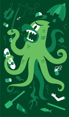 Party Crashers by Diarmuid O Cathain, via Behance
