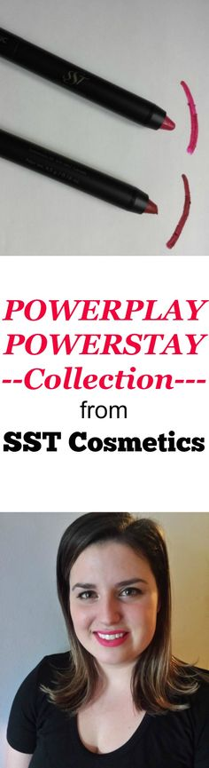 POWERPLAY POWERSTAY Collection lip and eye pencils from SST Cosmetics are all you need for a total makeup application.