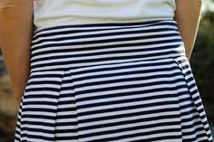 diy skirt that I want to make!!!  Do you think I would need to adjust it for my pregnant self?