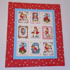 Quilted Table Topper Valentines Day Floral by ForgetMeNotQuilteds