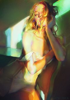 color and light study inspried by photography from janell shirtcliff