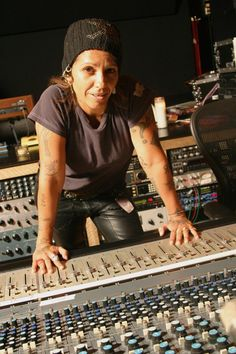 Where are the Female Music Producers? — Cuepoint — Linda Perry on photo my #Cozmicsoulfire muse in learning how to produce :)
