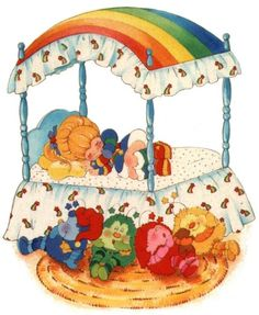cartoons wallpaper This is EXACTLY What my Canopy Bed looked like amp; my Rainbow Bright doll was sitting on my bed You know it LoL Cartoon Wallpaper, Vintage Cartoon, Vintage Toys, 80s Characters, Dibujos Cute, Old Cartoons, Retro Cartoons, Rainbow Brite, Party Pictures
