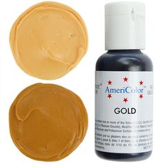 Gold Gel Paste Food Coloring from Layer Cake Shop! $2.75