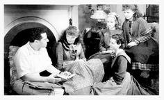 Little Women - 1933 Katharine Hepburn (Jo) Joan Bennett ( Amy)  Jean Parker (Beth) Frances Dee (Meg) George Cukor  - director