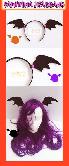 Wow! Vampirina headband | birthday ideas | halloween ideas | vampirina | cute | party | kids | easy | diy | @DashingAndDainty on Etsy