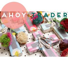 A H O Y  T R A D E R  So excited about our first shipment of @ahoytrader | Stock will be up on the site tonight so better be quick | Shop www.daisychainstore.com.au