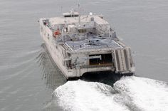 The Military Sealift Command joint high-speed vessel USNS Spearhead (JHSV 1)