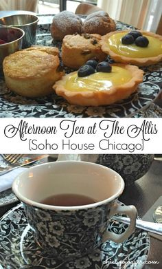 Afternoon Tea at The Allis {Soho House Chicago} | chicagojogger.com