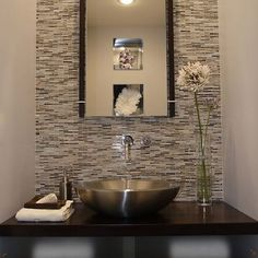 Powder Room Small Bathroom Design, Pictures, Remodel, Decor and Ideas - page 18