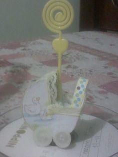Carrinho de Bebê - Lembrancinha para Chá de Fraldas