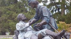 8/21/14 On this date in 1993, the Grand Lodge of Pennsylvania and thousands of Freemasons dedicated the Friend to Friend Masonic Monument in the cemetery in Gettysburg, commemorating acts of kindness between Freemasons who fought on opposite sides in the American Civil War.