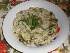 Raccontare un paese: le mie ricette: risotto con silene e pimpinella