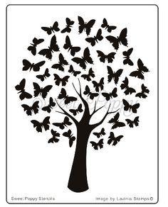 butterfly stencil pattern - Google Search