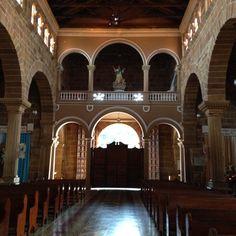 La Catedral de la Inmaculada Concepción, Barichara (inside view)