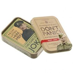 Dad's Army - Don't Panic! Playing Cards: Amazon.co.uk: Kitchen & Home