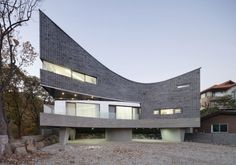 Yongin M Curved House