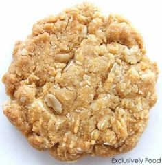 These biscuits (cookies) have an oaty, golden syrup flavour. On the day of baking, they are crunchy on the outside. During storage they d...