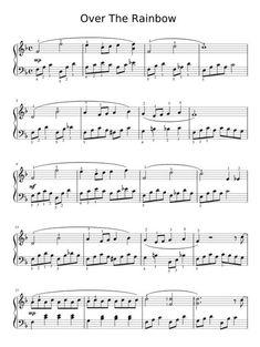 Awe Inspiring Keyboard Piano Made Easy Ideas. Exceptional Keyboard Piano Made Easy Ideas. Trombone Sheet Music, Easy Piano Sheet Music, Cello Music, Recorder Music, Alto Sax Sheet Music, Cello Noten, Over The Rainbow, Beginner Piano Music, Free Piano Sheets