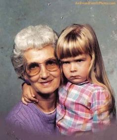 She always looked forward to spending time with Grandma.