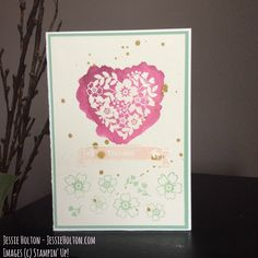 #BloominLove for #GDP057 by #JessieHolton #StampinUp