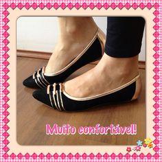 Uma sapatilha mais linda e confortável que a outra. Você pode comprar a sua aqui: http://koqu.in/10wm1n8 #koquini #sapatilhas #euquero