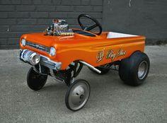 Gasser peddle car