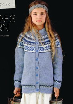ISSUU - Tema 45 NORSKE IKONER BARN by SANDNES GARN