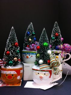 christmas tree mugs christmas 2013 laura a michaels tulsa 3864 - Michaels Christmas Crafts