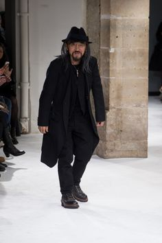 Yohji Yamamoto: menswear fall/winter 2017-2018
