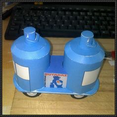 Butagaz Truck Free Vehicle Paper Model Download - http://www.papercraftsquare.com/butagaz-truck-free-vehicle-paper-model-download.html