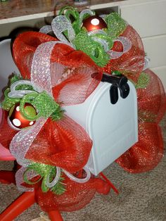 Christmas Mailbox topper