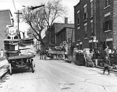 Montreal, Plateau, 1er Juillet 1930 (moving day)
