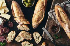 Crusty Baguette Recipe, Peasant Bread, Country Bread, King Arthur Flour, Instant Yeast, White Bread, Sourdough Bread, Artisan Bread, Bread Recipes