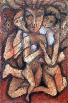 Barlangom fala Paintings, Felting, Paint, Painting Art, Painting, Painted Canvas, Drawings, Grimm, Illustrations