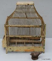 love old bird cages