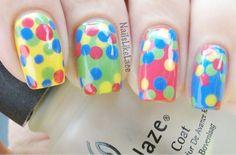 #colorful #dotticure #easternails