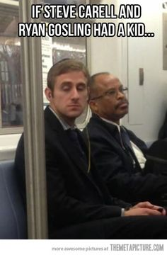 Steve Carell x Ryan Gosling - if there was a crossover between them!