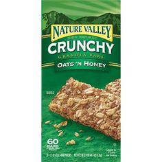 Nature Valley Oats N Honey Bars - 30 pks. - 2 bars each $7.98