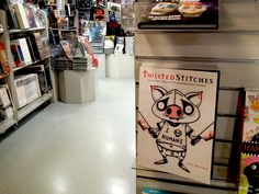 Twisted Stitches is now available from Forbidden Planet, the world's largest and best-known science fiction, fantasy and cult entertainment retailer. Science Fiction, Stitches, Embroidery Designs, Planets, Cross Stitch, Entertainment, Fantasy, Sci Fi, Stitching