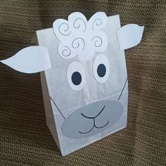 Sheep Treat Sacks - Farm Lamb Barnyard Theme Birthday Party Favor Bags by…