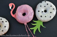 Diy Food, Decoration, Donuts, Desserts, Vanilla, Flamingo Costume, Food Food, Recipies, Decor